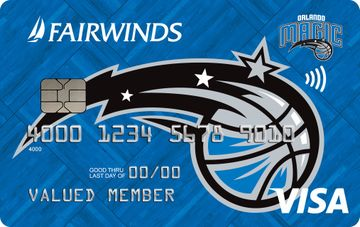 Orlando Magic Visa® Credit Card image