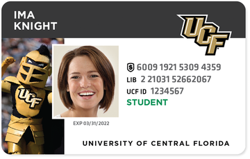 Current UCF student ID