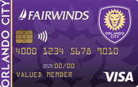 Orlando City Soccer Credit Card